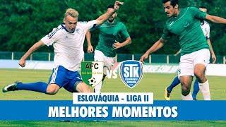 Melhores Momentos de STK Fluminense Samorin 1 x 3 AFC Nové Mesto pela terceira rodada da Liga II da Eslováquia. Gol de Vávra.