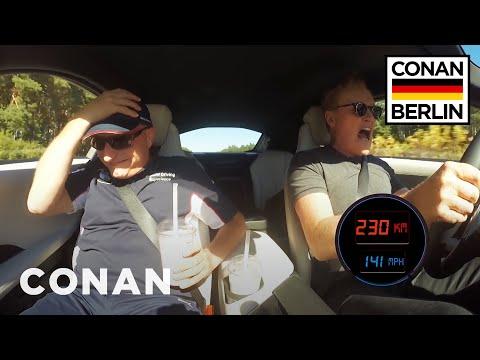Conan's Fast & Furious Autobahn Adventure  - CONAN on TBS (видео)