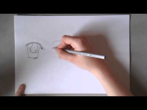 Minas Manga Tutorials: Einfache Shojo-Mädchen-Augen zeichnen
