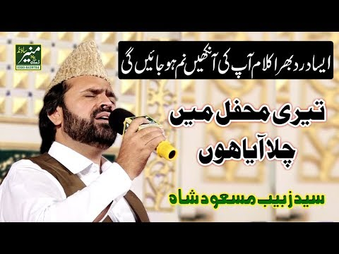Teri Mehfil Mein Chala Aya Hoon | Syed Zabeeb Masood Naats 2019 |  Best Naat In The World