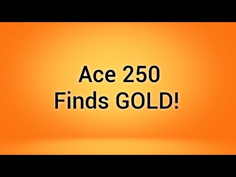 Gold! Metal Detecting with Garrett Ace 250 & Nel Tornado coil