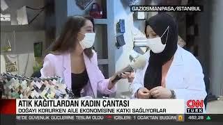 Geri Dönüşüm Malzemelerinden Çanta - Cnn Türk