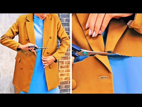 CREATIVE IDEAS TO REMAKE OLD CLOTHES    Girly Clothes DIY Transformation Ideas