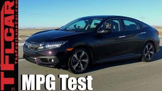 2016 Honda Civic Real World MPG Review: How Fuel Efficient is the new Turbo?