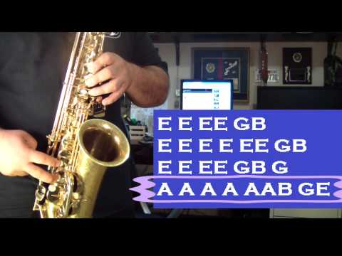 Video REDFOO - NEW THANG - ALTO SAX TUTORIAL - SANTIAGO PACHECO download in MP3, 3GP, MP4, WEBM, AVI, FLV January 2017