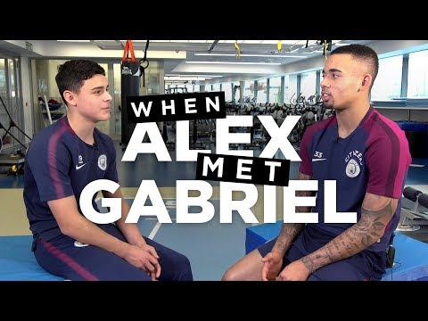 Video: WHEN ALEX MET GABRIEL JESUS | Rehab Tips from a Pro