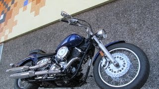 5. Used  2008 Yamaha V-Star 1100 Motorcycle For Sale