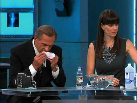 Making Homemade Antibacterial Wipes on 'The Doctors'