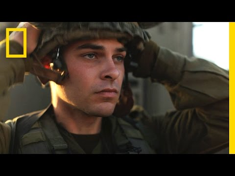israel - For most Israelis, military service is mandatory. National Geographic Emerging Explorer Aziz Abu Sarah meets with some of the young people who form the backb...