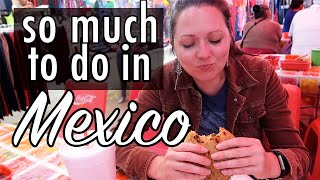 San Miguel de Allende: Library, Art, and the Tuesday Market (Family Vlog in Mexico )