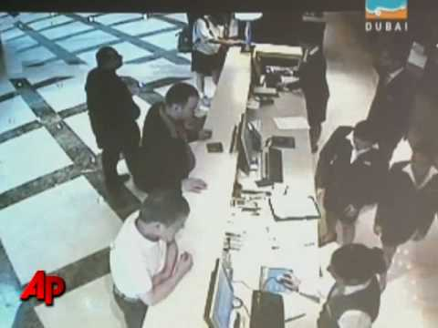 Dubai Shows CCTV, Hunts Killers of Hamas Man