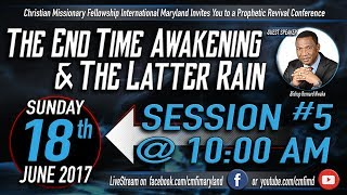 Revival Conference 2017 Session 5 - Sunday, June 18, 2017With Bishop Bernard NwakaCMFI Westminster, Maryland