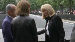 Video En déplacement à New York, Brigitte Macron visite Ground Zero MP3, 3GP, MP4, WEBM, AVI, FLV September 2017