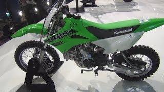 7. Kawasaki KLX110 (2019) Exterior and Interior