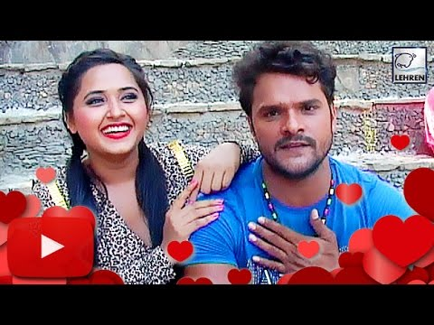 Khesari Lal Yadav CONFIRMS His Love Affair With Kajal Raghwani! | Lehren Bhojpuri:  Superstar Khesari Lal Yadav makes some shocking revelations!  Catch the actor talking about his controversial love life.Log On To Our Official Website : http://www.lehren.tvDownload LEHREN Apps:Apple App Store Link : http://goo.gl/xnqE7CAndroid Play Store Link : http://goo.gl/3CvqbcFor More Updates:Subscribe: http://www.youtube.com/subscription_center?add_user=lehrenBhojpuriLike: http://www.facebook.com/LehrenNetworksFollow: http://twitter.com/LehrennetworksDailymotion link - http://www.dailymotion.com/lehrenBhojpuri