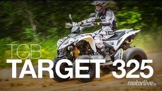 TGB Target 325 Ranskalaisen Motor Live lehden testissä