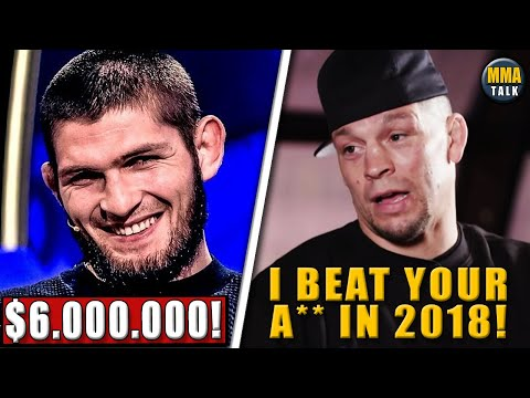 UFC 254 Fighter Salaries REVEALED, Nate Diaz SLAMS Khabib, Paulo Costa calls out Whittaker, Gaethje
