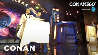 CONAN360°: Watch The Gore Fly As Bruce Campbell Slices Into Conan's Sandwich