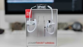 Video PowerBeats 3 Wireless Unboxing and First Impressions MP3, 3GP, MP4, WEBM, AVI, FLV November 2018