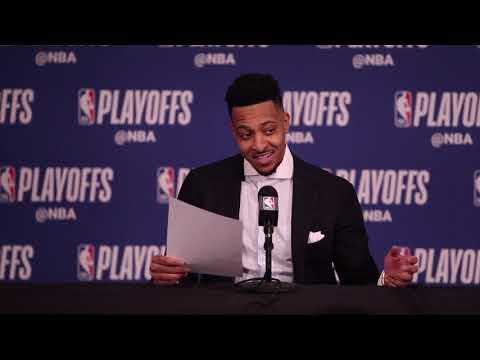 CJ McCollum after Portland Trail Blazers take 1-0 lead on Oklahoma City Thunder