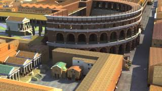 Ostia Antica Italy  city pictures gallery : Ostia Antica, harbor of the Imperial Rome - A computer reconstruction