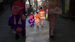 Kawaii kimono girls