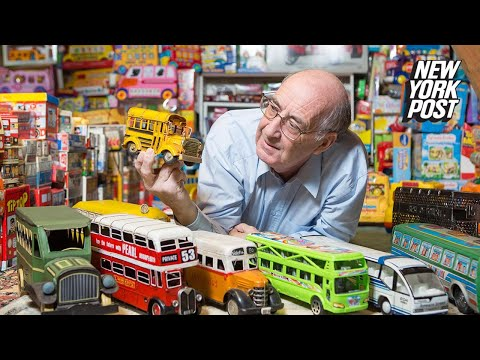 This crazy collector has 14,000 toy buses worth nearly $1M | New York Post