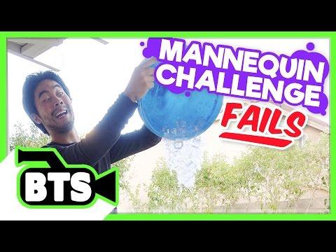 Mannequin Challenge Fails! (BTS) (видео)