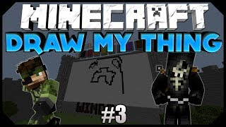 "Minecraft: DRAW MY THING | ""I'M TOO COMPETITIVE?"" W/ AciDic BliTzz&Friends! (Mini-Game)"