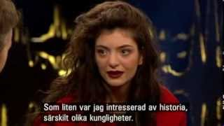 INTERVIEW: Lorde On Skavlan