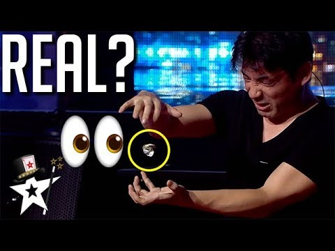 Magician From Japan Does REAL MAGIC!? | Magicians Got Talent