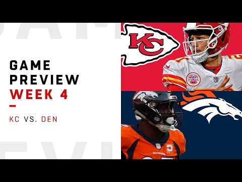 Video: Kansas City Chiefs vs. Denver Broncos | Week 4 Game Preview | NFL Playbook