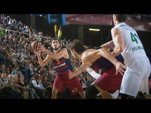 Highlights: RS Round 2, FC Barcelona Lassa 78-72 Stelmet Zielona Gora