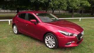 1. New 2018 Mazda 3 SP20 Limited Edition Presentation - Soul Red Crystal