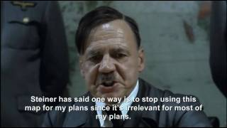 Hitler plans to improve his plans