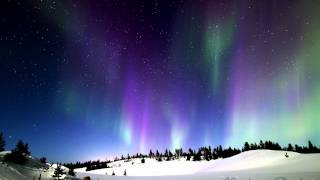 Ivalo Finland  city pictures gallery : Northern Lights over Ivalo, Finland - Timelapse