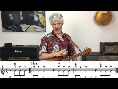 All Along The Watchtower Ukulele Tutorial Bob Dylan (Notation)