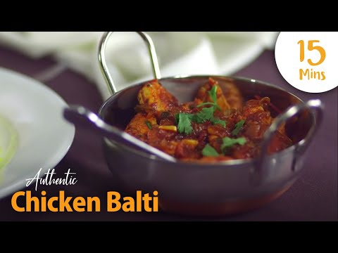How to Make a Healthy, Authentic Chicken Balti in 15 Minutes | Family Recipe | Chef Hussain