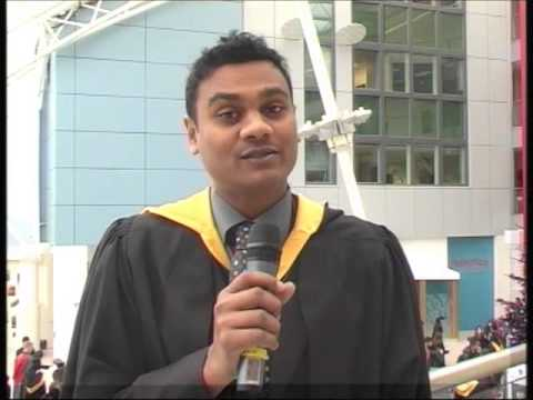 Distance Learning MBA Graduate - Anthony Rafeek