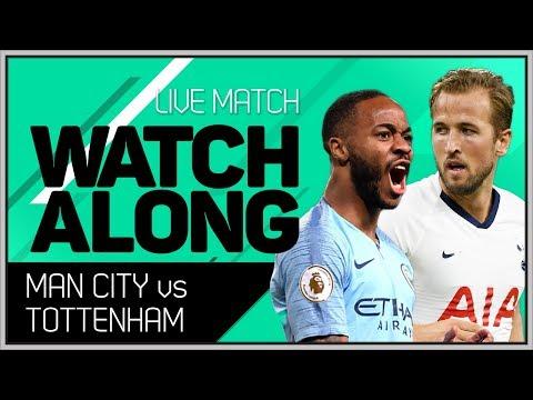 Manchester City vs Tottenham With Mark Goldbridge LIVE