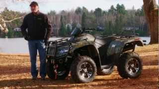 1. ATV Test Ride: 2012 Arctic Cat 700 EFI