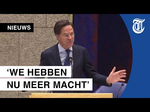 Grap Rutte in debat valt verkeerd