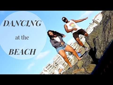 VLOG| TWERKING  AT THE BEACH!