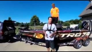 Kevin VanDam for the ALS Ice Bucket Challenge