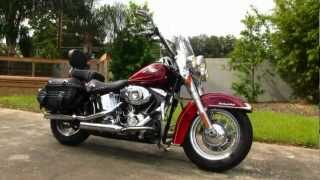 9. Used 2009 Harley-Davidson Heritage Softail Classic FLSTC For Sale