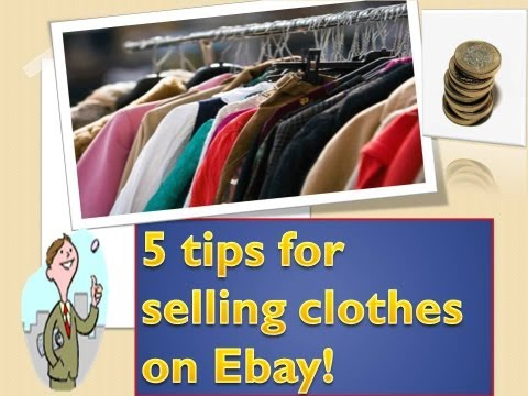how to measure ebay clothes