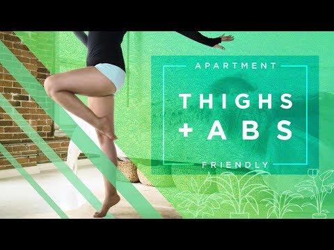 캐시언니의 아파트내 운동 시리즈 -복근 및 허벅지 운동