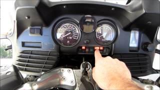 8. BMW MOTORCYCLE ABS BRAKE TUTORIAL- ENGINE START- R1150RT