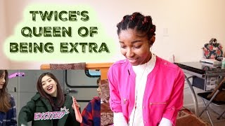 Video TWICE's Queen of being extra [TWICE REACTION] MP3, 3GP, MP4, WEBM, AVI, FLV Juli 2018