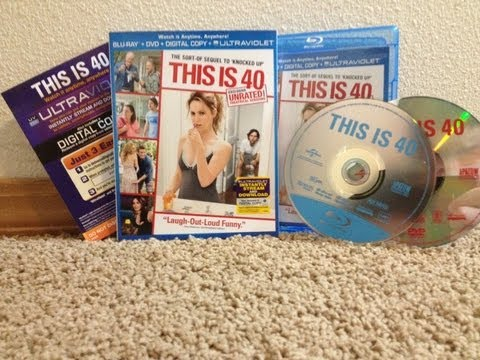 This Is 40 Blu Ray Unboxing